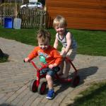 Buiten spelen bij Kinderdagverblijf Prikkebeen Bunnik